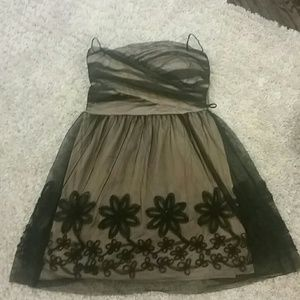 Mystic women's strapless dress size Lg